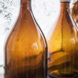 Stora, gamla flaskor