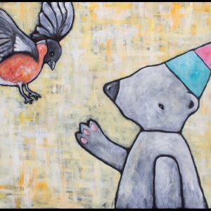 """""""Hattbjörn drömmer om verklighet"""" A3"""