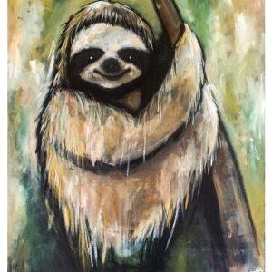 Sengångare – sloth A3
