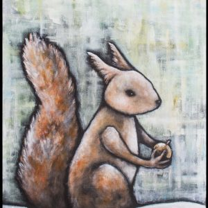 Vintekorre / Winter Squirrel A5